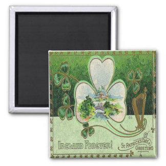 Vintage St Patricks Day 19 Magnet