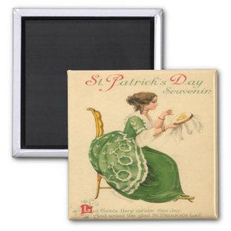 Vintage St Patricks Day 8 Magnet
