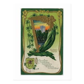 Vintage ST. Patricks Day Card Postcard