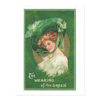 Vintage St Patricks Day Postcard