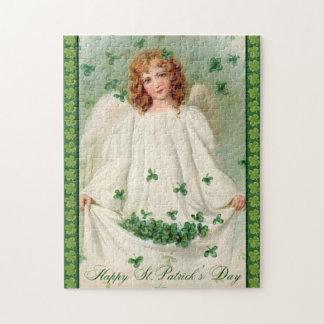 Vintage St Patrick's Day puzzle