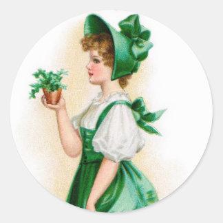 Vintage St. Patrick's Day Sticker