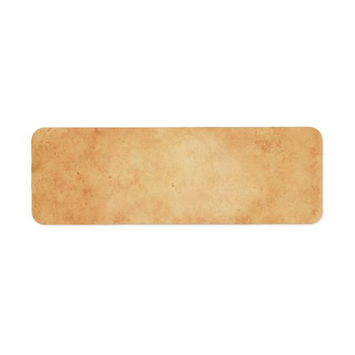 Vintage Stained Old Paper Texture Blank Labels Zazzle