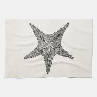 Vintage Starfish Antique Star Fish Template Kitchen Towel