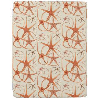 Vintage Starfish Illustration iPad Cover