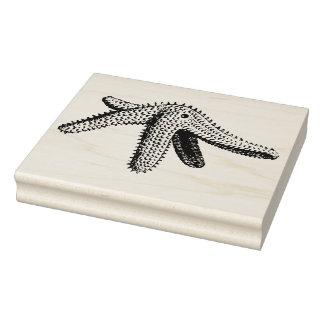 Vintage Starfish Rubber Art Stamp