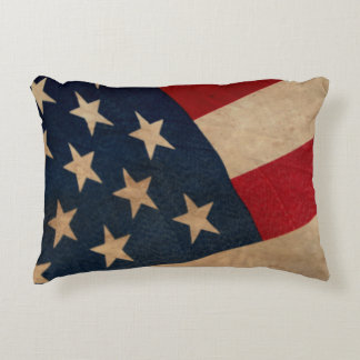 Vintage Stars and Stripes Pillow