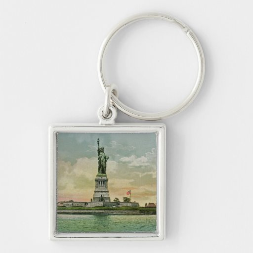 Vintage Statue of Liberty, New York Harbor Key Chains