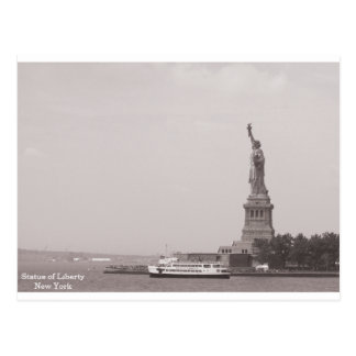 Vintage Statue of Liberty New York Postcard