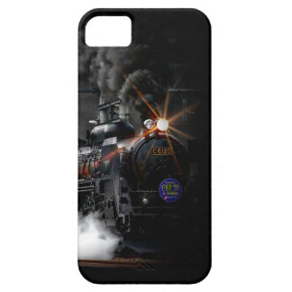 Vintage Steam Engine Black Locomotive Train iPhone 5 Covers