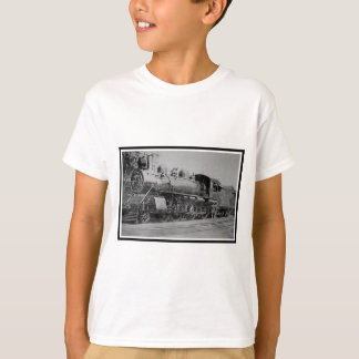 Vintage Steam Engine Railroad Train T-Shirt