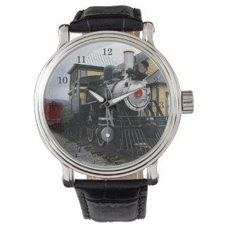 Vintage Steam Engine Watch