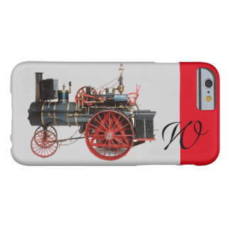 VINTAGE STEAM LOCOMOTIVE MONOGRAM BARELY THERE iPhone 6 CASE