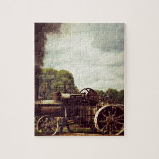Vintage Steam Power, Vintage Tractor Jigsaw Puzzle