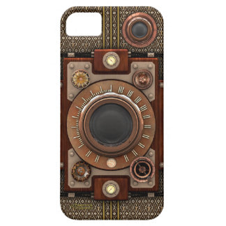 Vintage Steampunk Camera #1D (De Luxe!) iPhone 5 Case