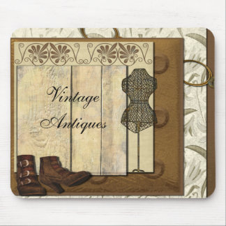 Vintage Steampunk Collage Mouse Pads