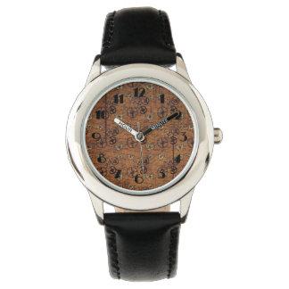 Vintage Steampunk Gears Wallpaper Wrist Watches