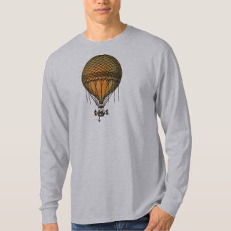 Vintage Steampunk Hot Air Balloon T-Shirt