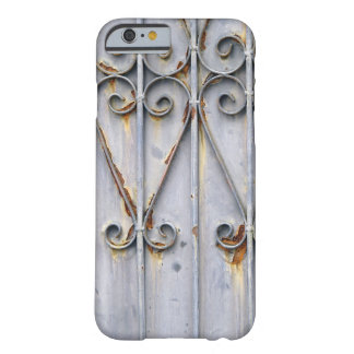Vintage steampunk pattern metal rustic chic goth barely there iPhone 6 case