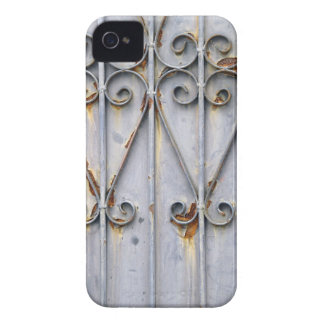 Vintage steampunk patterned metal iPhone 4S case
