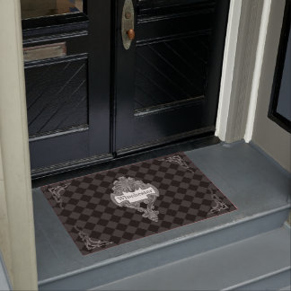 Vintage Steampunk Personalized Doormat