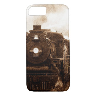 Vintage Steampunk Railroad Antique Steam Train iPhone 8/7 Case