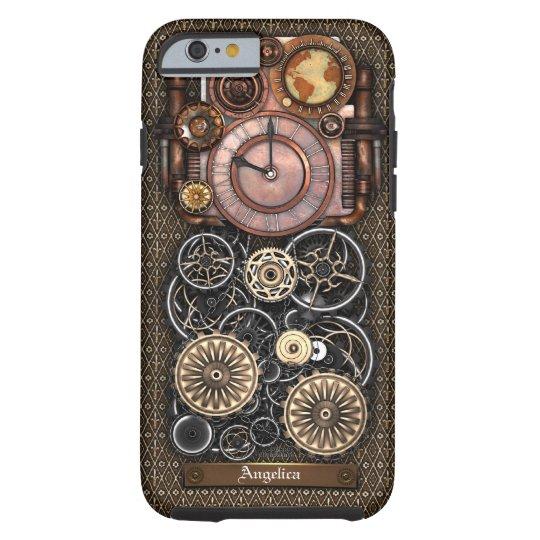 Vintage Steampunk Timepiece Redux #2 Tough iPhone 6 Case
