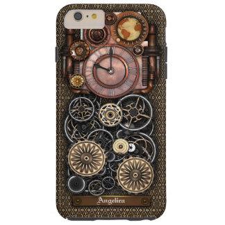 Vintage Steampunk Timepiece Redux #2 Tough iPhone 6 Plus Case