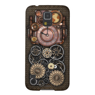 Vintage Steampunk Timepiece Redux Galaxy S5 Case