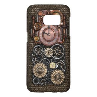 Vintage Steampunk Timepiece Redux Samsung Galaxy S7 Case
