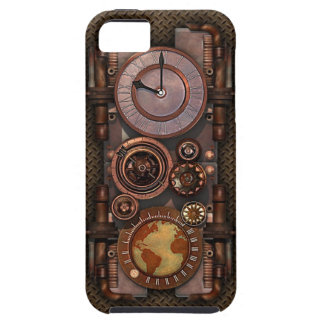 Vintage Steampunk timepiece v2 iPhone 5 Cases