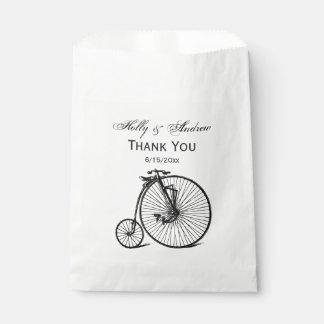 Vintage Steampunk Velocipede Bicycle Bike Favour Bag