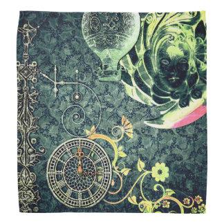 Vintage Steampunk Wallpaper Bandana