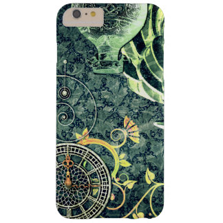 Vintage Steampunk Wallpaper Barely There iPhone 6 Plus Case