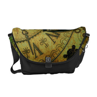 Vintage Steampunk Wallpaper Commuter Bags