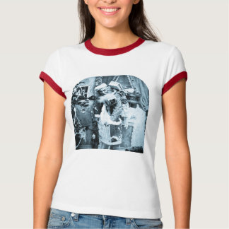 Vintage Stereoview - Christmas Delivery T-shirts