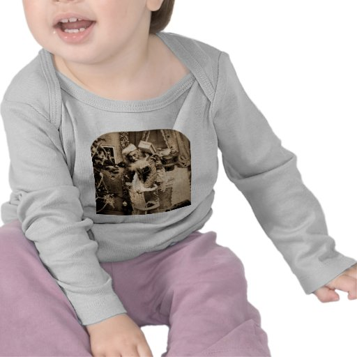 Vintage Stereoview - Christmas Delivery Tshirts