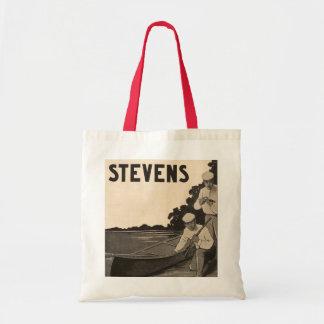 Vintage Stevens Firearms Rifle Canoe Gun Tote Bag