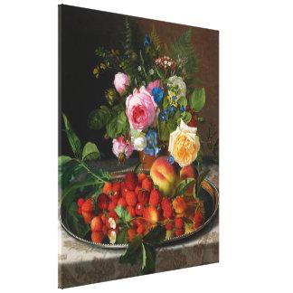 Vintage Still Life Art, Nature's Reward by Ottesen Gallery Wrap Canvas
