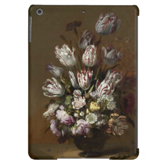 Vintage Still Life with Flowers iPad Air Cases