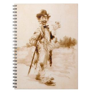 Vintage Stogie 1899 Notebook