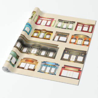 vintage stores wrapping paper