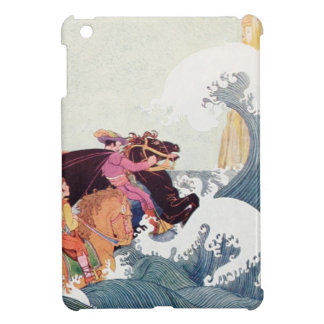 Vintage Story Book Illustration: A Great Castle iPad Mini Covers