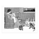 Vintage Story Time in Black & White Post Cards