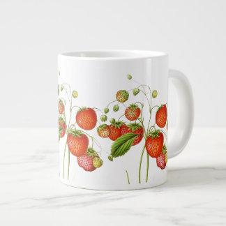 Vintage Strawberries Jumbo Mug