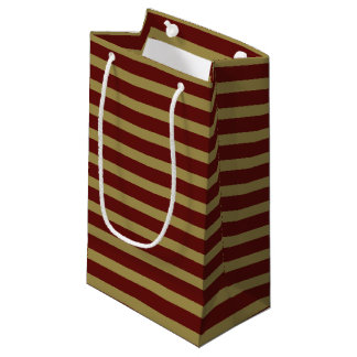 Vintage Striped Small Gift Bag