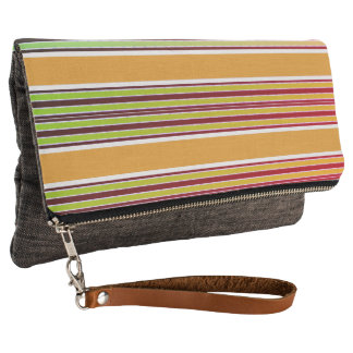 Vintage-Stripe's-Pear-Tree_Memories(c)Multi-Colors Clutch