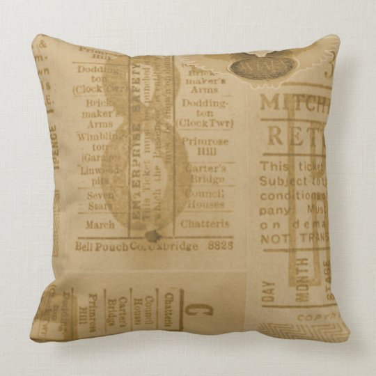 Vintage Style 8 Pillow