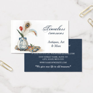 Vintage Style Antique Shop Business Card