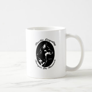 Vintage style Beauceron portrait Coffee Mug